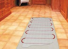Elektrinės šildomos grindys kaina
